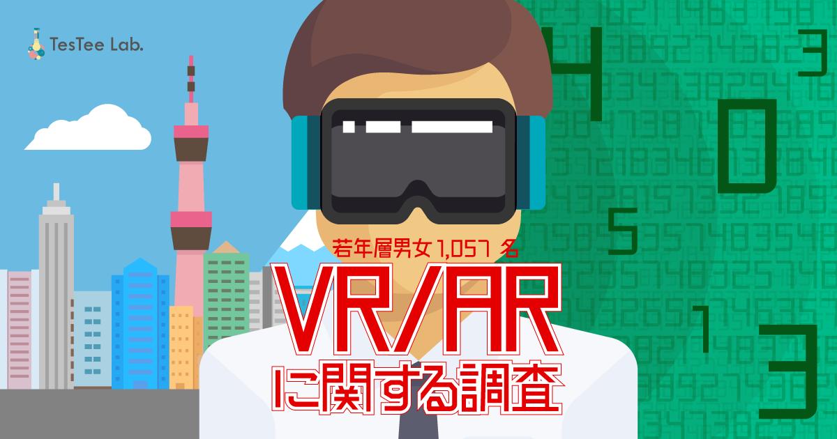【若年層男女1,057名対象】VR/ARに関する調査