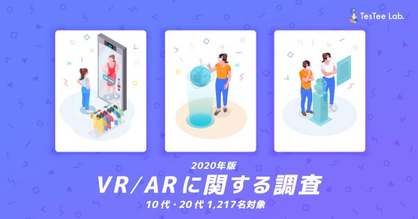 【2020年版】VR/ARに関する調査