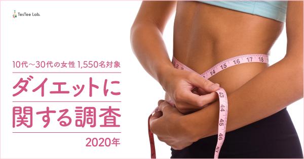 【2020年版】ダイエットに関する調査