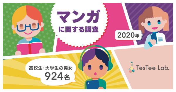 マンガに関する調査【2020年版】