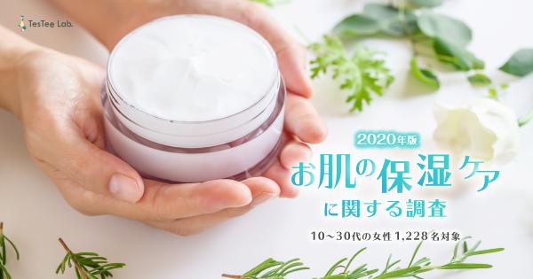 お肌の保湿ケアに関する調査【2020年版】