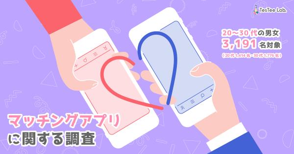 マッチングアプリに関する調査【2021年】